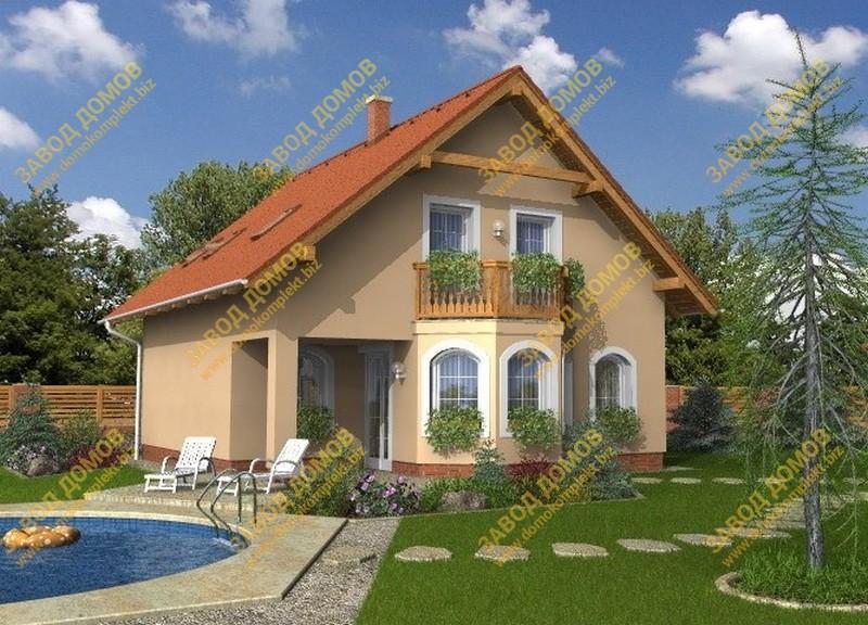 Проекты домов из сип панелей до 200 кв м.